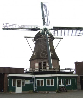 Hardenberg molen Windlust